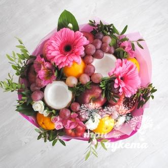 buket-iz-fruktov-i-gerber